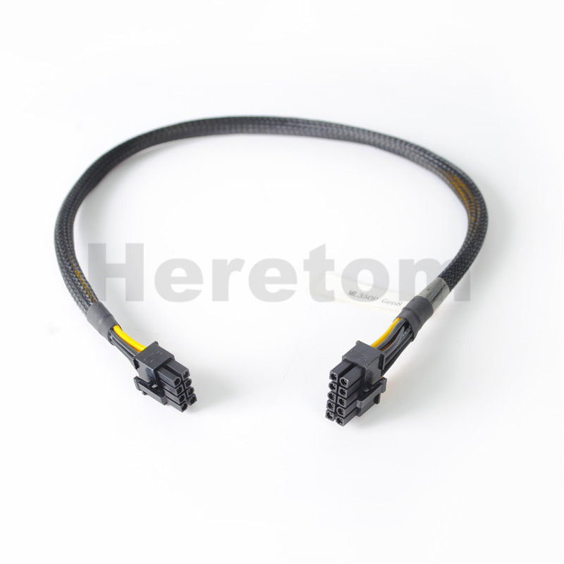 10pin to 6pin Power Adapter Cable for HP ProLiant DL580 G7 and GPU 50cm