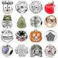 16 Estilo de la Moda de Piedra Natural de Cristal de Plata Encanto de Los Granos Flojos DIY Joyería Fina Para Las Mujeres Pulseras Collar Apto Regalos Z111