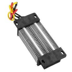 Электрические нагреватели, изолированный PTC керамический воздушный Нагреватель, постоянная температура, нагревательный элемент 200 Вт AC/DC 12 ...