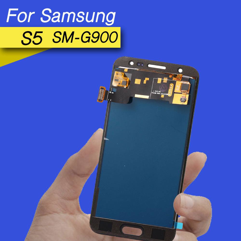 LCD <font><b>display</b></font> screen for repairing for samsung <font><b>s5</b></font> lcd screen digitizer touch screen for <font><b>galaxy</b></font> <font><b>s5</b></font> <font><b>display</b></font> <font><b>SM</b></font>-<font><b>G900</b></font> <font><b>G900</b></font> i9600 image