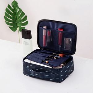 Image 5 - Travel Fashion Lady Cosmetics  Bag Beautician Portable Storage Bags Large Capacity Women Makeup Bag