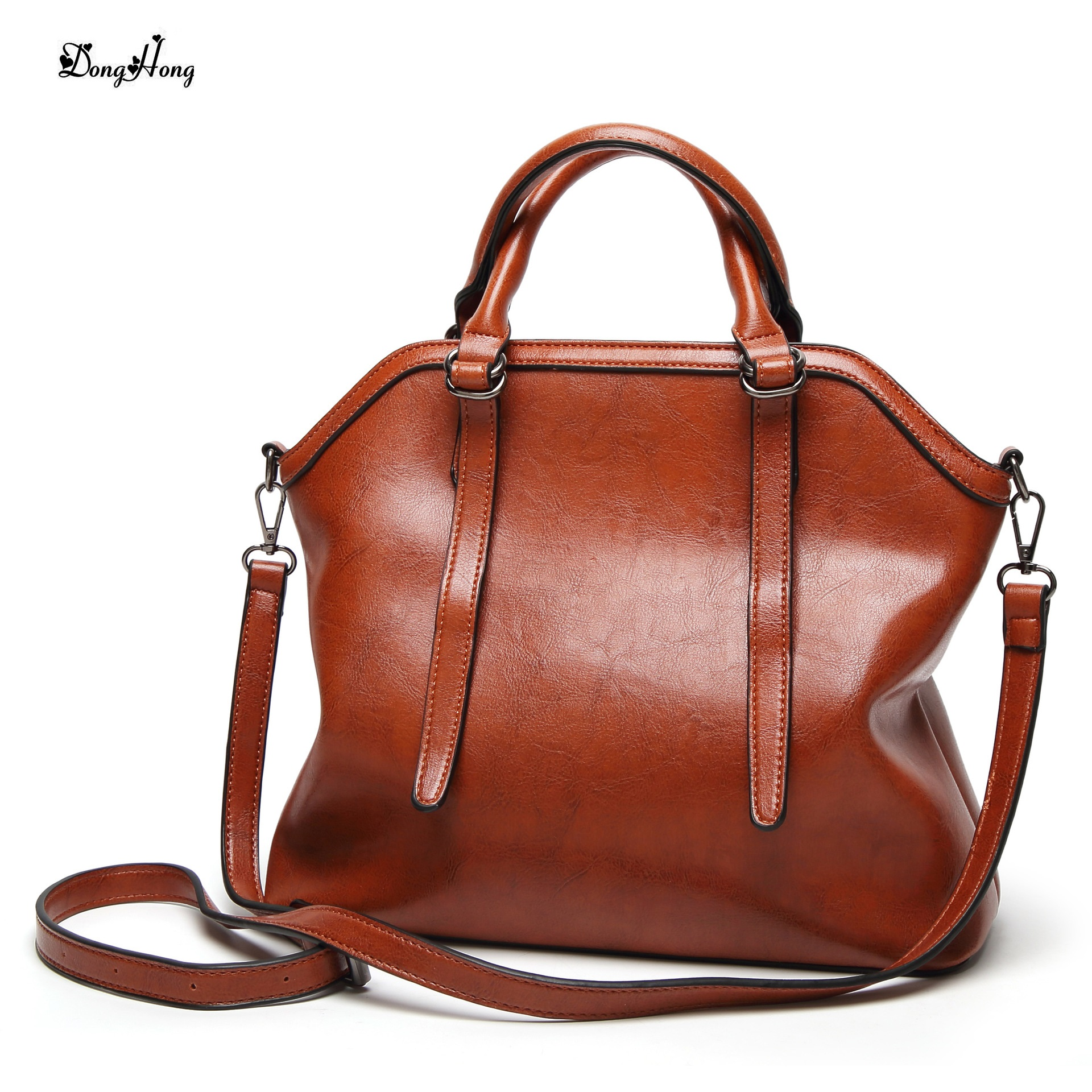 цена Genuine Leather Handbag Luxury Handbags Women Bags Designer Bolsa Feminina Sac a Main Bolsos Tote Borse 2017 Big Shoulder Bag