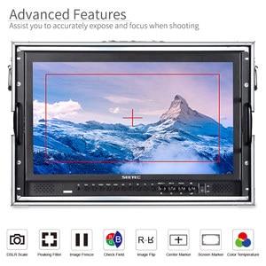 Image 3 - Seetec P173 9HSD CO 17.3 אינץ IPS 3G SDI HDMI שידור צג עם AV YPbPr לשאת על LCD מנהל צג עם מזוודה