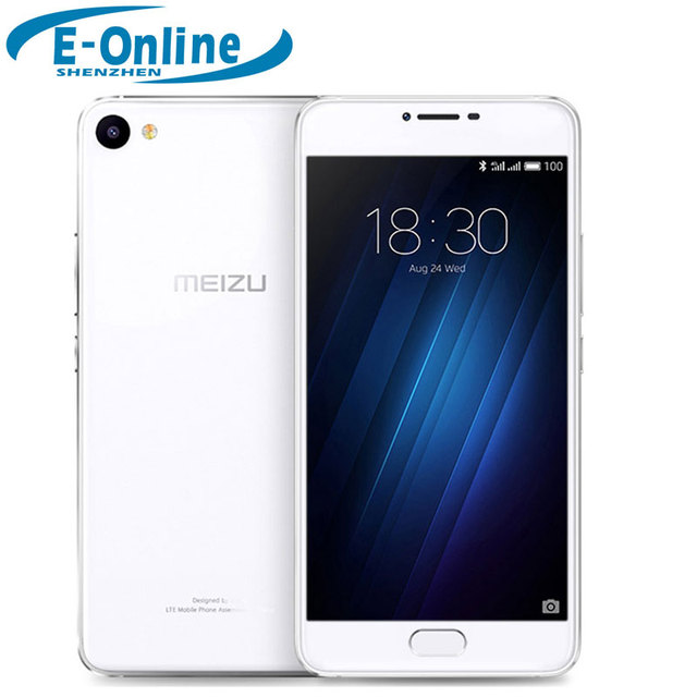 "Оригинал Meizu U10 4 г LTE смартфон МТК 6750 Octa core 3 ГБ оперативной памяти 32 ГБ 2.5D стекло 5.0 ""13.0MP камеры отпечатков пальцев ID сотовый телефон"