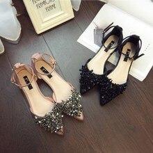 Hot Spring Summer Shoes Bling Sandals Women Flats Heeled
