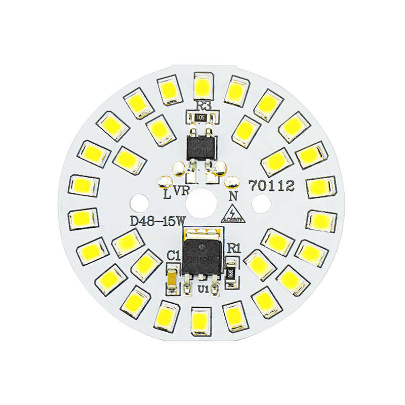 DIY LED Bulb Lamp SMD 15W 12W 9W 7W 5W 3W Light Chip AC230V 220V Input Smart IC LED Bean For Bulb Light Cold White Warm White