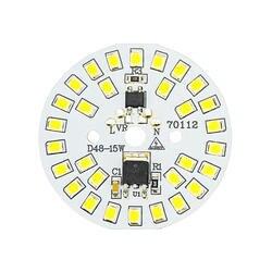 DIY светодио дный лампы SMD 15 Вт 12 Вт 9 Вт 7 Вт 5 Вт 3 Вт свет чип AC230V 220 В Вход смарт-ic светодио дный Bean для лампочки холодный белый теплый белый