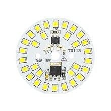 ชิป LED SMD2835 15W 12W 9W 7W 5W 3W 220V หลอดไฟ LED BEAD สมาร์ท IC ไม่จำเป็นต้องมี Driver สำหรับไฟน้ำท่วม Spotlight DIY แสง