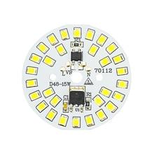 LED 칩 SMD2835 15W 12W 9W 7W 5W 3W 220V LED 전구 램프 구슬 스마트 IC 필요 없음 홍수 빛 스포트 라이트에 대 한 드라이버 Diy 조명