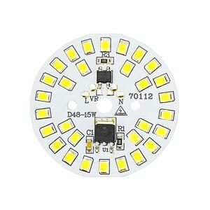 Image 1 - Układ LED SMD2835 15W 12W 9W 7W 5W 3W 220V żarówka LED lampa koralik inteligentny IC nie ma potrzeby kierowcy dla powodzi światła Spotlight Diy oświetlenie