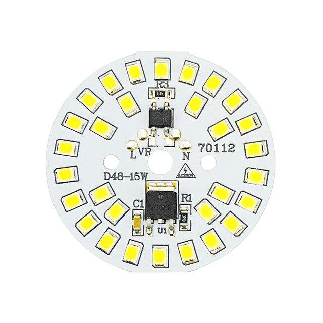 Układ LED SMD2835 15W 12W 9W 7W 5W 3W 220V żarówka LED lampa koralik inteligentny IC nie ma potrzeby kierowcy dla powodzi światła Spotlight Diy oświetlenie