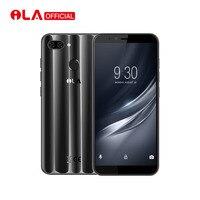 Оригинальный iLA шелк 4 Гб оперативная память 64 Встроенная мобильный телефон Snapdragon 430 Octa Core 5,7 ''18:9 дисплей Настоящее двойной сзади камера