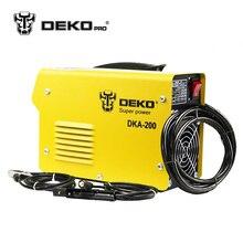 Dekopro DKA-120 800 Вт 120A 21 s IP AC дуги электрического сварочного аппарата MMA