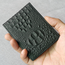 Russian Driver License Case Holder Wallet Crocodile Cow Leather Cover for Car Driving Documents Business ID Card Holder Luxury