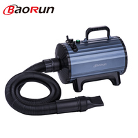 2019 New Baorun B1 Dog Dryer 2300W Professional Pet Cat Grooming Blower Quick Drying 220V Anion Hair Dryer & Hair Suction 2 in 1