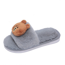 Autumn Winter kids Slippers Children Dinosaur Non-slip Soft Boys Home Shoes Kids Girls Cartoon Indoor Floor