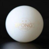 100 balls iPONG Table Tennis Ball 2 star 40+ ABS Serving machine ball new material plastic poly ping pong balls tenis de mesa