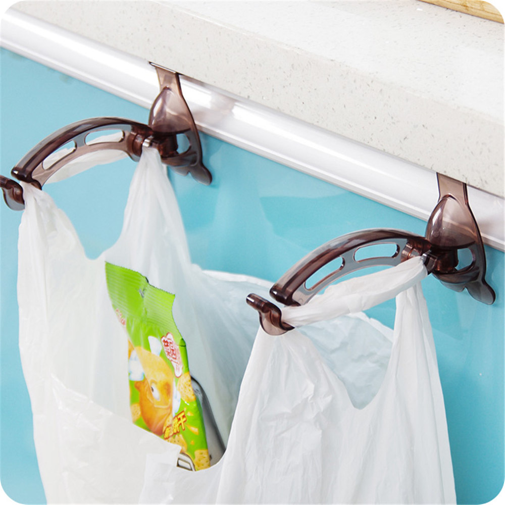 new arrival hot sale door after trash rack garbage bag holder garbage bags garbage bucket - Trash Bag Holder