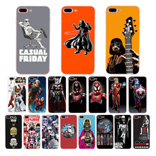 IMIDO Soft silicone phone case for iphone X XS XR XSMAX 6s/6plus 7/8plus 5s 6s se 5 6 7 8 funny star wars patterned TPU shell imido oriental dragon pattern design soft black silicone phone case for iphone x xs xr xsmax 7 8 6 5 6s 6 7 8plus 5 6s tpu shell