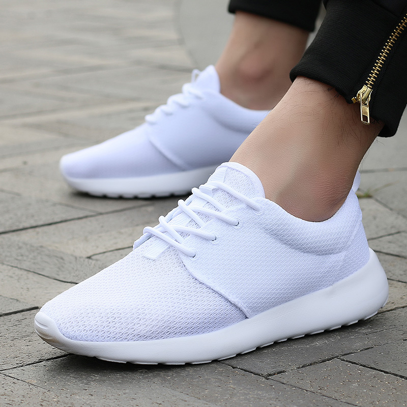 CASMAG Classic Men and Women Sneakers Outdoor Walking Lace up Breathable Mesh Super Light Jogging Sports Running Shoes 25