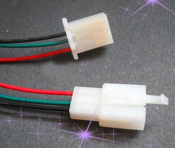 2,8 stecker kabel auto elektrische motorrad docking anschluss linie ...