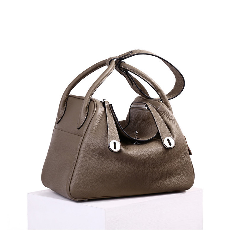 Luxury Brands Women Genuine Leather Handbags Casual Shoulder Bag Designer Bucket Female Real leather Messenger Bags