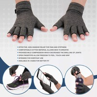 Kyncilor Arhtitis Gloves Tacticos Pain Relief Compression Gloves Wrist Support Men Women Fitness Fingless Glove For Sports