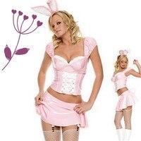 แฟนซีสีชมพูกระต่ายสาวกระต่าย