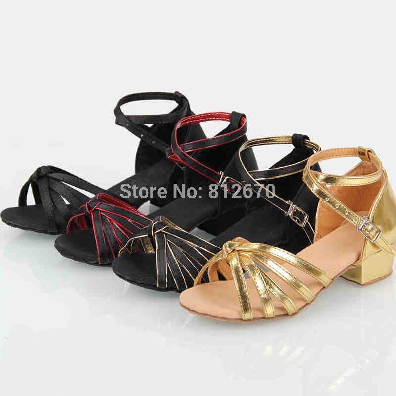 4cb4e9ce5 8 أنماط الأطفال اللاتينية أحذية أحذية نساء بالجملة المهنية الرقص معقود بو  الحرير مع مسطحة القاع ممارسة الأحذية