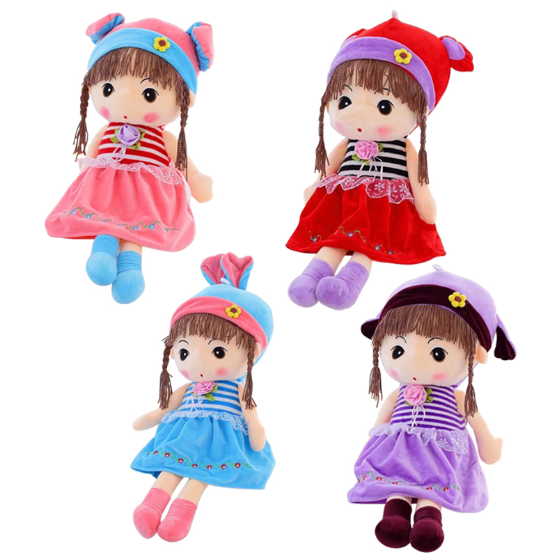 1pc 40cm Creative Plush Doll,Phyl Plush Toy,Stuffed Doll ,Kawaii Toy Cartoon Doll For Girl,Kid Toy Christmas Gift cartoon character doll model desk ornament gift toy