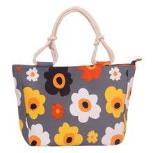 High Quality Ladies Canvas Beach Shoulder Bag Printed Shopping Tote Satchel Large Capacity New Women Beach Shoulder Bag цены