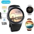 Kw18 bluetooth smart watch smartwatch sport reloj de pulsera para teléfonos android de pantalla táctil sim soporte de tarjeta tf vida a prueba de agua