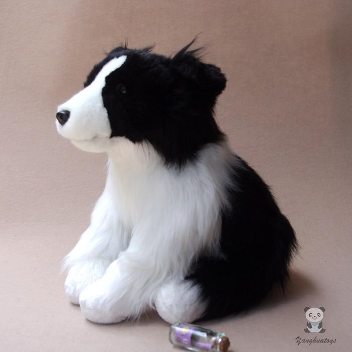 Сладки кучета големи кукли плюшени играчки подарък пълнени животни детски играчки кукла симулация граница коли