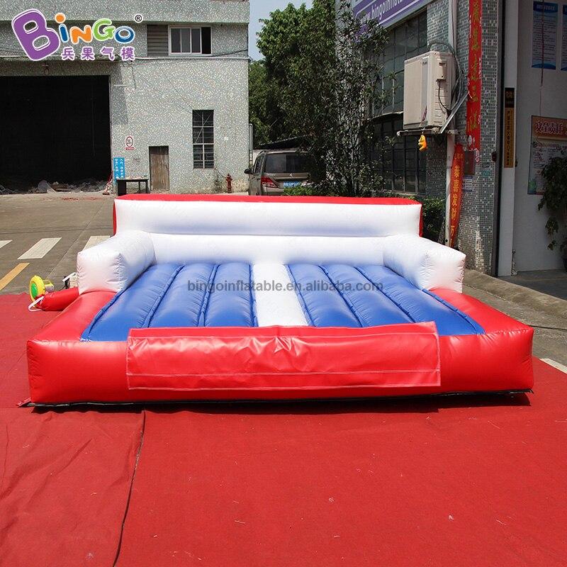Sortie d'usine 3x3x1.1 m tapis de gymnastique gonflable exploser adultes et enfant jouer air piste tapis de gym personnalisé utilisation multifonctionnelle