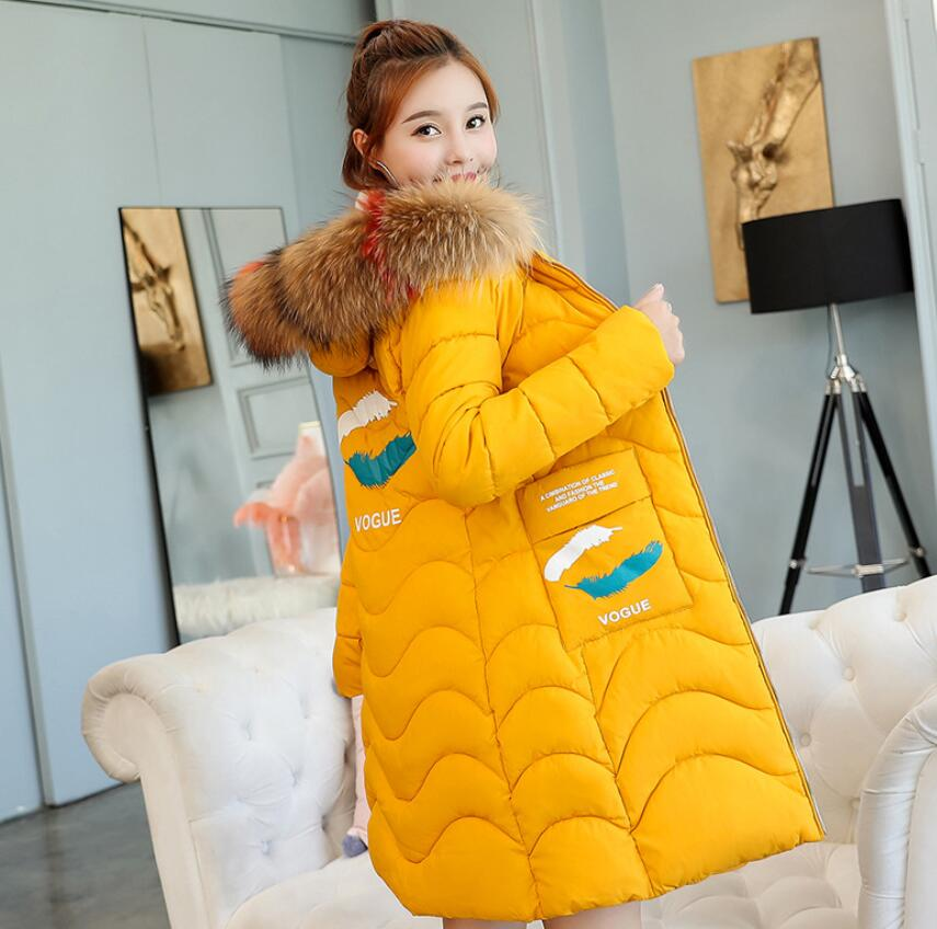 Winter Long Maternity Coat Winter Warm Maternity Down Jacket Fashion fur collar Pregnant Women Outerwear Pregnancy clothes fashion fur hooded winter maternity jacket thicken parkas maternity down jacket pregnancy outerwear pregnancy clothes winter