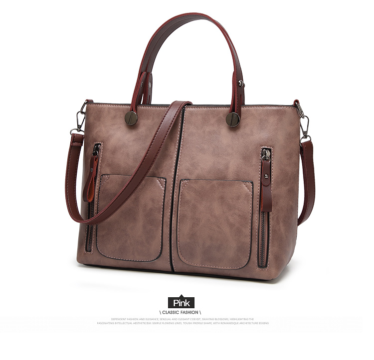 Tinkin Vintage   Shoulder Bag Female Causal Totes for Daily Shopping 9