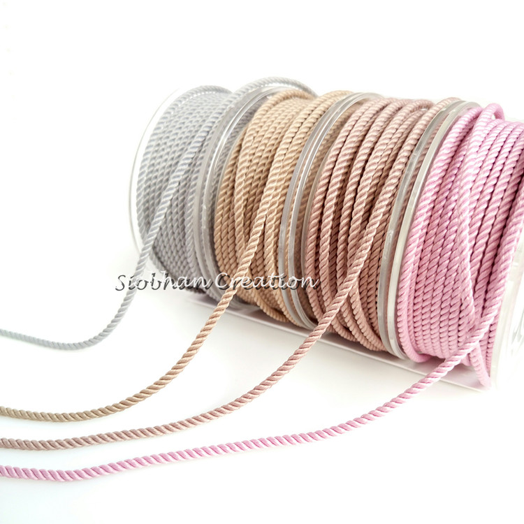 About the Fit 1mm Milan Silk Cord 25M/Roll Beading Crafting Woven Lace Jewelry and Clothing Accessories Bracelet Necklace Making