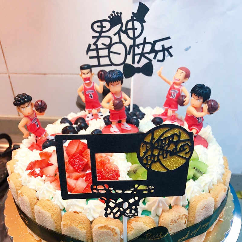 Cake Decorating Hoopman Basketball Birthday Party Cake