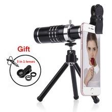 Phone camera lenses Kit 18X Telephoto Zoom Lens Telescope For iPhone 5 6 6s 7 8