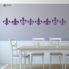 YOYOYU Wall Decal Home Art Decor Vinyl Fleur De Lis Decorative Patterns Creative Multipack Poster YO119