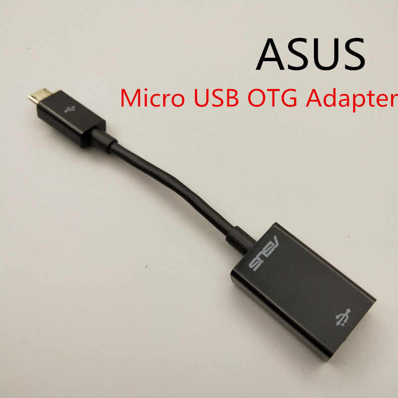 Original ASUS OTG Charger Cable For asus zenfone 4 max zc554kl 3 2 Adapter Micro USB to USB 2.0 Converter OTG Cable