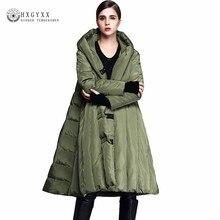 Loose Plus Size 7XL 90% White Duck Down Jacket Women Winter