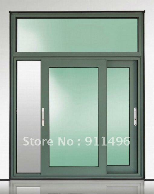 Anti Corrosion Thermal Break Aluminum Sliding Window Grill Design In