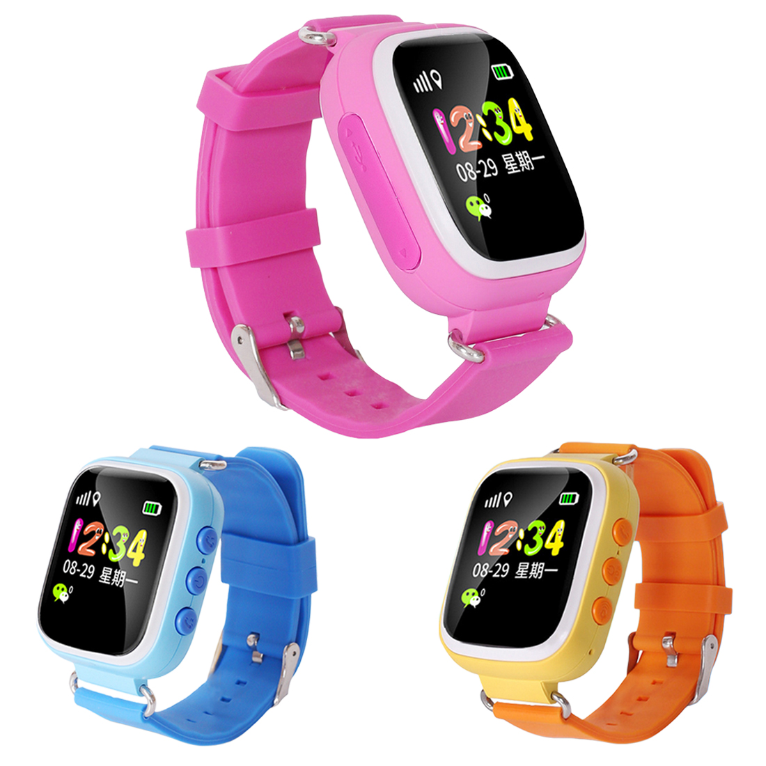 Hot Q20 GPS Kids Watches Baby Smart Watch for Children SOS Call Location Finder Locator Tracker Anti Lost Monitor Smartwatch 1pcs 2017 new gps tracking watch for kids q610s baby watch lbs gps locator tracker anti lost monitor sos call smartwatch child page 6