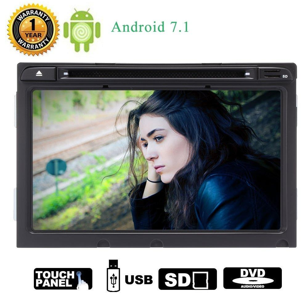 Android 7.1 8HD Car digital touch screen DVD Player Stereo For Hyundai Mirror Link GPS WIFI Bluetooth RDS Rearview Camera Input