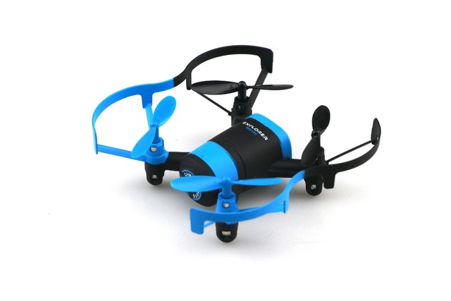 JXD 512 Вт JXD512W 2.4 ГГц WiFi FPV Мини Drone Один Ключ вернуться & Режим Безголовый RC Quadcopter с 0.3MP HD Камера RTF F18541/2