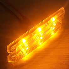 купить 2pcs 12V Car LED Side Turn Signal Lamp LED Marker Light Angel Eyes For BMW E60 E61 E81 E82 E87 E88 E90 E91 E92 E93 ///M Logo дешево