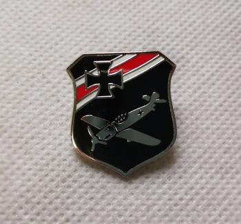 Ww2 niemieckiego sił powietrznych luftwaffe pin badge tanie i dobre opinie CN (pochodzenie) Ludzi Antique sztuczna CHINA Miedzi