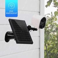 HD 1080P Wireless WIFI Waterproof Camera Outdoor Solar Board Power Supply Camera 2.0MP Lens Night Vision IR Led Lights Memory up