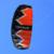 3Sqm Quad Line Parafoil Parachute Kite Kiteboarding Cometa de Tracción Con 36 cm Mango + Línea de Vuelo